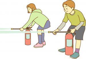 消火器 方法