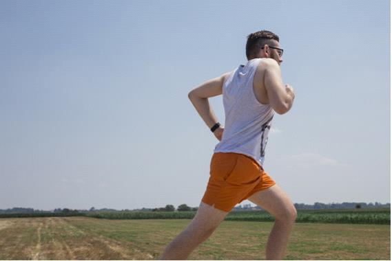 男性ランナー